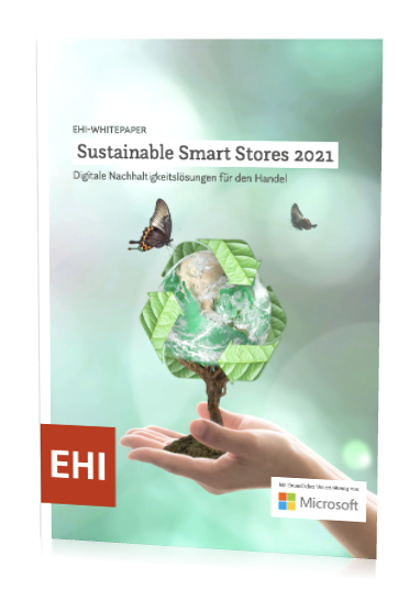 Cover EHI-Whitepaper Sustainable Smart Stores 2021